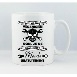 Mug Mécanicien en colère