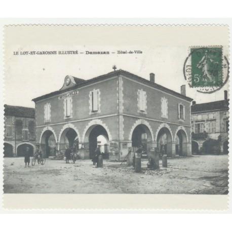 Lingette Microfibre Ancienne Carte postale Damazan