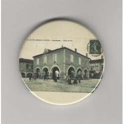 Décapsuleur Aimanté Ancienne Carte Postale Damazan