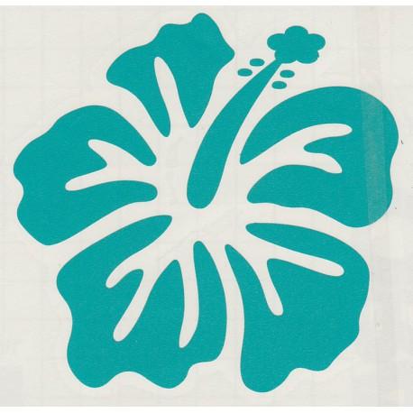 Stickers Fleur d'Hibiscus 01