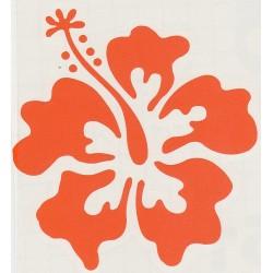Stickers Fleur d'Hibiscus 02