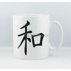 Mug Peace/Paix Calligraphie Japonaise