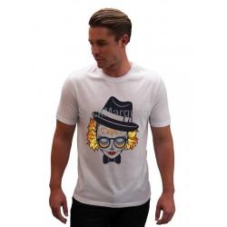 Tee-shirt Homme Sublimation Crâne femme Automnale