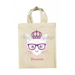 Tote Bag Princesse Chat