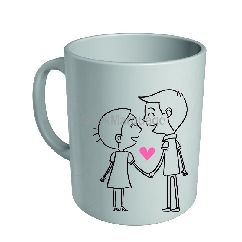 mug c ramique blanche saint valentin 14 f vrier 2017 made in france stick marquage agen nouvelle. Black Bedroom Furniture Sets. Home Design Ideas
