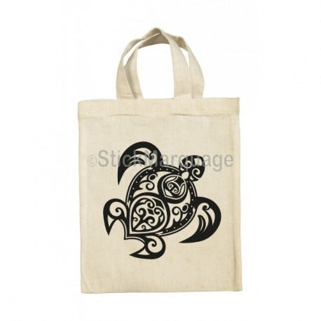 Tote Bag Tortue Tribal