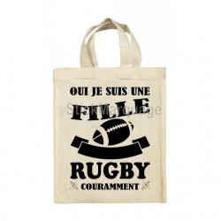 Tote Bag Fille Rugby