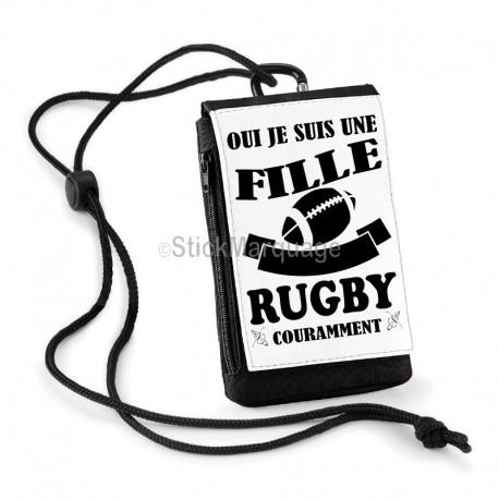 Pochette Téléphone Oui je parle le Rugby