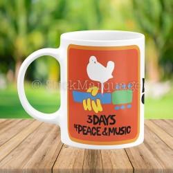 Mug Woodstock 50 Ans