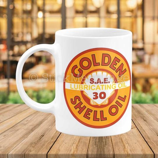 Mug Shell Golden
