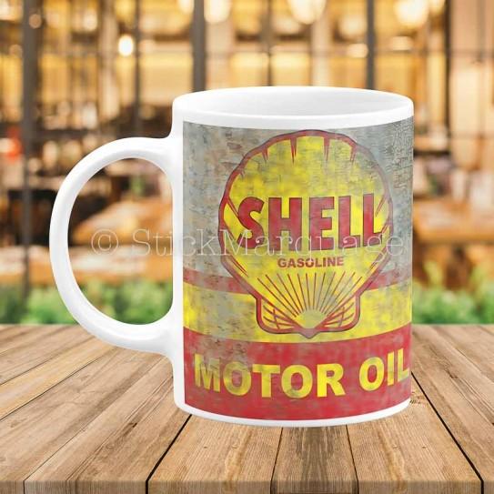 Mug Shell Vintage