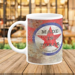 Mug Texaco Made In Texas