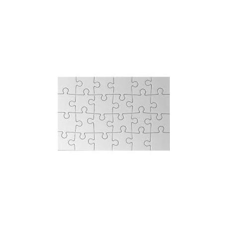 puzzle vierge sublimable A6 - 24 pièces