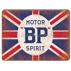 Plaque aluminium BP OIL