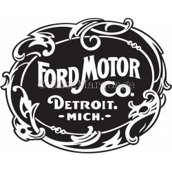 Sticker Ford Motor Co.